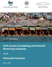 AML/CFT measures and financial inclusion